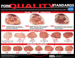 Meat Color Chart Compart Duroc Difference Compart Family Farms