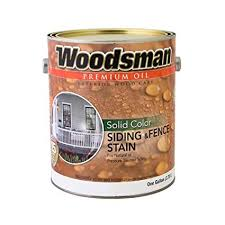 True Value Woodsman Wsovn Gal Solid Color Siding And Fence Stain