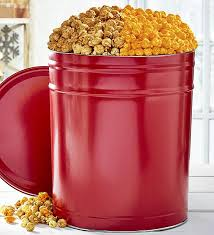 simply red 6 1 2 gallon pick a flavor popcorn tins