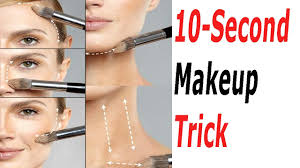 makeup tricks 10 sec tutorial easy and simple