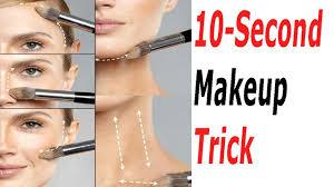makeup tricks 10 sec tutorial easy and simple