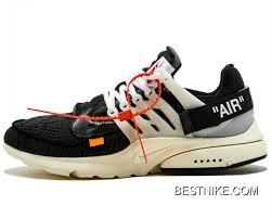 Mens Womens Off White X Nike Air Presto Virgil Abloh Shoes