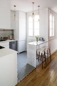 interior design kitchen white. Chic Apartment Kitchen Interior Design White