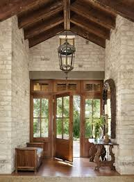 front doors austinMediterranean home with inviting design style in Austin  Wood