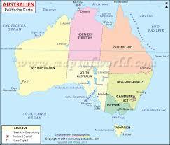 Australien, karte - Kostenlos Herunterladbare Karten