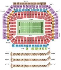 Detroit Lions Tickets Schedule Ticketiq