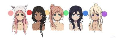 Kyoani Character Design More Kyoani Ish Character Designs Just For Fun Because I