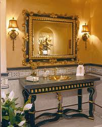 interesting traditional wall sconces traditional candle sconces wall lamp mirror table gold sink and faucet soap gold and wall towel gray floor