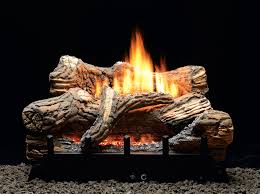 the flint hill log set features richly detailed hand painted ceramic fiber logs mounted on top of our vent free contour burner includes glowing embers to