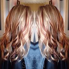 Red And Blonde Blonde And Copper