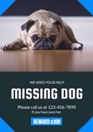 Free Missing Poster Flyer Designs Designcap Poster Flyer Maker