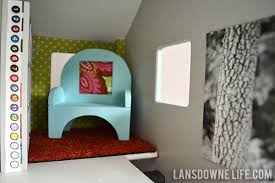 homemade dollhouse furniture. Dollhouse Sitting Room With Handmade Furniture Homemade
