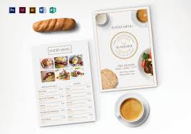 breakfast menu template breakfast party menu design template in psd illustrator indesign