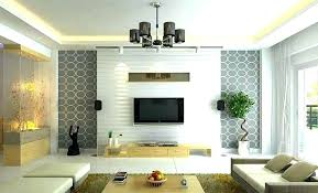 Decorated Small Living Rooms Classy Modern Wallpaper Living Room Modern Wallpaper Ideas Designs R Living