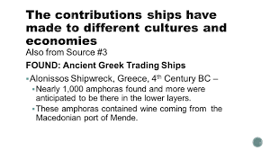 informational essay source transporting treasure the also from source 3 found ancient greek trading ships 61607 alonissos shipwreck