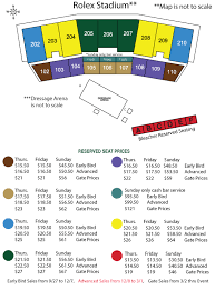 Kentucky Horse Park Seating Chart Single Day Kentucky Three Day Event Equestrian Events