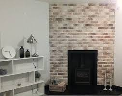 brick chimney t easy fit brick slips uk feature walls the home of feature wall tiles