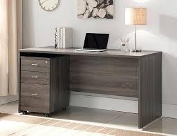 white desk office. Long White Desk Impressive Rustic Grey Home Office In Popular