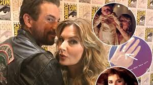 Riverdale' Stars Skeet Ulrich and Mädchen Amick Tease Falice 'Speed Bumps',  THAT Ring Photo and Cult