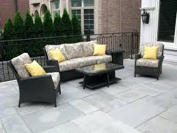 yellow patio furniture. Yellow Wicker Chair Cushions Patio Furniture Amazing Cozy Sofa Black Leather Floral Pattern Pillows