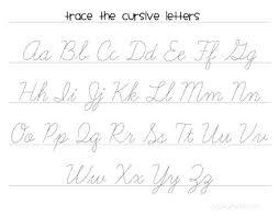 Cursive Capitals Worksheets Bonus Letters Printable A Z Co H