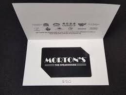 mortons gift card balance photo 1