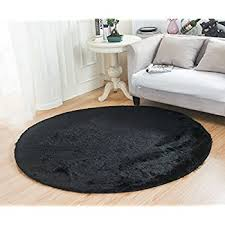 Perfect Black Bedroom Rug Rugs Mbigm Super Soft Modern Circular Living Inside Impressive Ideas