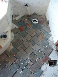 Slate Kitchen Floor Tiles Slate Tile Bathroom Godsircus