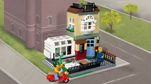 Real Life Lego House 31065 Park Street Townhouse Legoar Creator Products And Sets