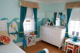 Nautical Bedroom Curtains Great Nautical Teenager Girl Bedroom Scheme Ideas Offer Waves