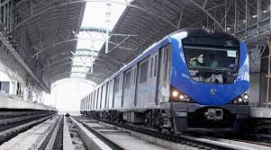 young w steers chennai s first metro train the n express chennai metro chennai first metro chennai metro w driver jayalalithaa a preethi