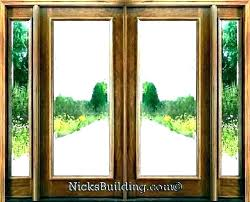 front door glass panels replacement with panel entry replacemen