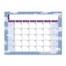 Pacon Calendar Weather Pocket Chart Pacon Gowrite Self Adhesive Dry Erase Monthly Calendar 16