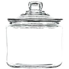 anchor hocking glass canisters 3 quart jar clear jars 1 gallon