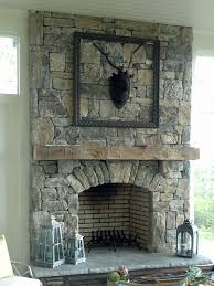 good looking fireplace design with decorative stone fireplace surround endearing living room decoration using natural