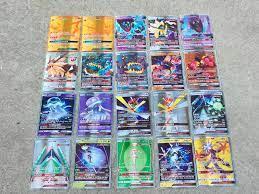 TAKARA TOMY 25 50 Stuks GX MEGA Glänzende Kaarten Spiel Schlacht Carte  Trading Pokemon Karten Kinderen Speelgoed|Spiel-Sammelkarten