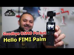 <b>FIMI Palm</b> 4K HD <b>3 axis</b> handheld stabilized Gimbal Camera ...