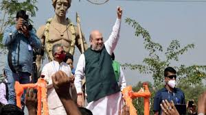 BJP's Mission Bengal, Amit Shah arrives Bankura - video dailymotion