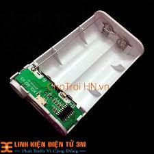 Box Sạc Dự Phòng 2 Cell 1A 18650 Xiaomi ( Màu sắc ngẫu nhiên ) - Pin sạc dự  phòng di động