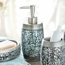 Home Designs Glass Bathroom Accessories Sets 15 glass bathroom