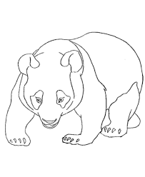 Small Picture Panda Bear Coloring Pages Coloring Home
