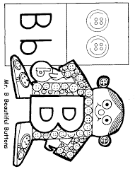 Letter People Coloring Pages Color Bros