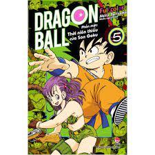 Truyện tranh - Dragon Ball Full Color - Phần Một: Thời Niên Thiếu Của Son  Goku - Tập 1, 2,3,4,5 tại Hà Nội