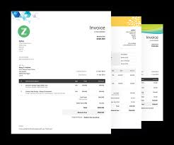 Example Of Invoice Fascinating Free Invoice Templates Download Invoice Template Zoho Invoice