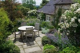 cottage garden country patio
