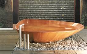 Wooden Bathtub Wooden Bathtubs For Modern Interior Design And Luxury Bathrooms