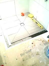 how to install tile shower floor to install tile shower cost to install tile shower