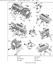 spark plug wire routing corvetteforum chevrolet corvette forum routing diagrams from fsm