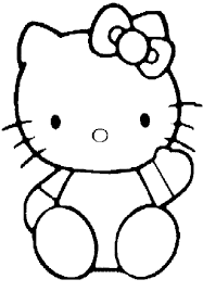 Hello Kitty Coloring Pages Free Printable Coloring Book