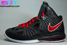 lebron 8 ps. nike lebron 8 ps white black sport red | new photos lebron ps